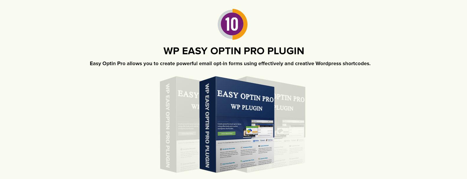 wp easy optin pro plugin
