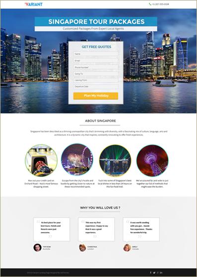 Landing Page WordPress Theme & Template 2018   InkThemes