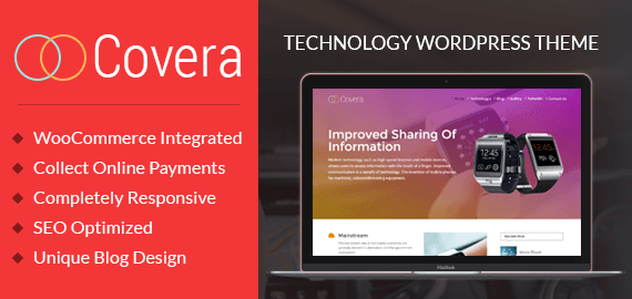 COVERA - ULTRA MODERN TECHNOLOGY WORDPRESS THEME