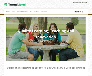 ToomMorel Pro - A Multipurpose WordPress Theme