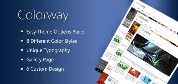 Colorway v3 – Responsive Business WordPress Theme