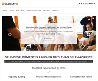 Cloriato - Charity WordPress Theme