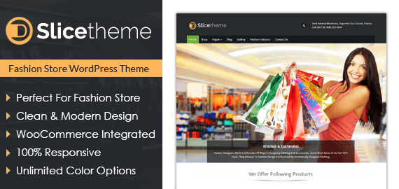 SLICE - BEST FEATURE WORDPRESS THEME