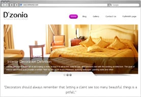 Dzonia Premium WordPress Theme