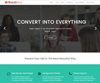 WoodBerry - Simplest WordPress Theme