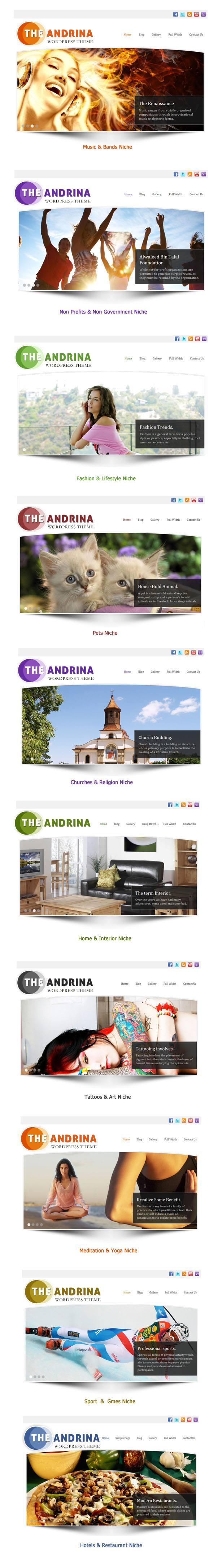 Andrina show
