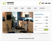 HomeBuilder - Real Estate WordPress Theme