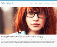 Regal - Pictures Frame Responsive WordPress Theme