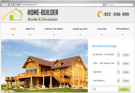 HomeBuilder WordPress Real Estate Theme