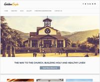 Golden Eagle - Church Responsive WordPress Theme