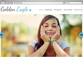 Golden Eagle WordPress Theme