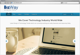 BizWay Responsive WordPress Theme