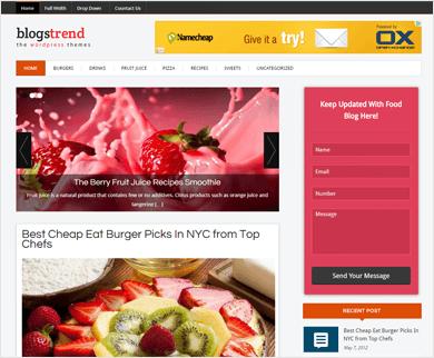 BlogsTrend - WordPress Blog Theme