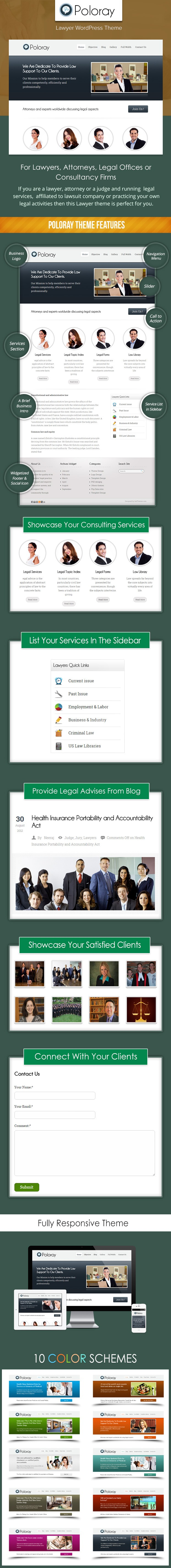 wordpress lawyer theme