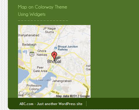 Integrate Google Map