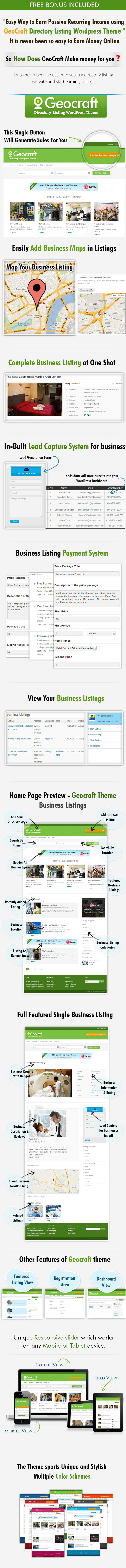 Geocraft-directory wordpress theme