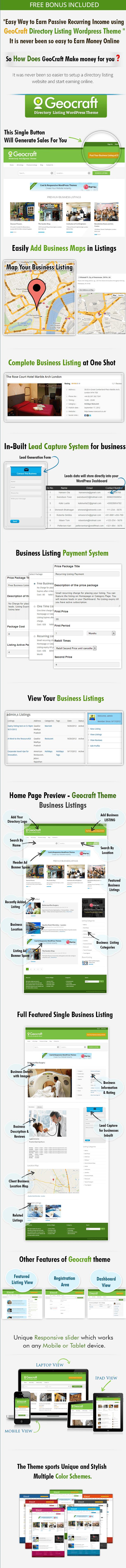 Geocraft-directory wordpress theme