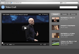 VideoCraft WordPress Theme