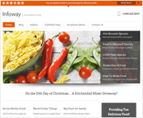InfoWay - Fastest Lead Capture WordPress Theme