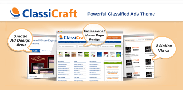 ClassiCraft-theme-featured-image