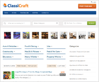 ClassiCraft - WordPress Classified Ad Listing Theme