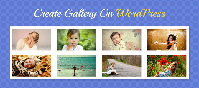 Create Gallery In WordPress No Image Repetition