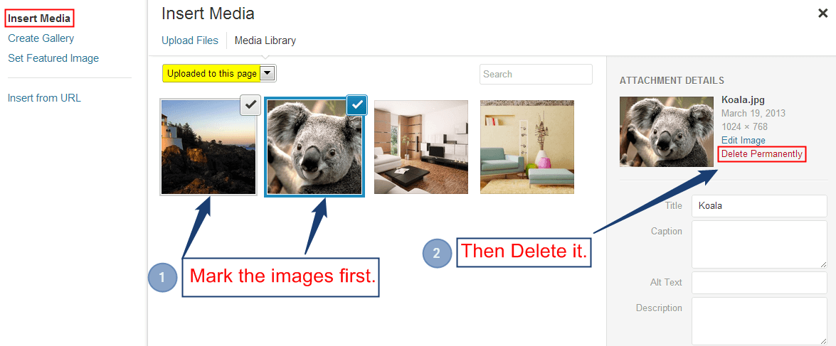 Marking-the-images-to-delete