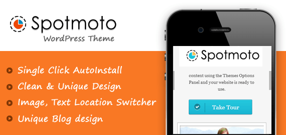 SPOTMOTO - BLOG, MAGAZINE AND NEWS WORDPRESS THEME