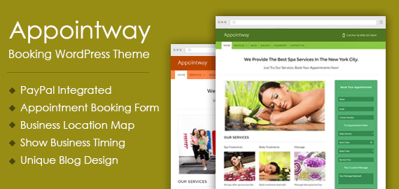 AppointWay – WordPress Appointment Booking Theme
