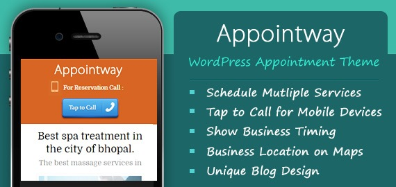 appointment booking theme