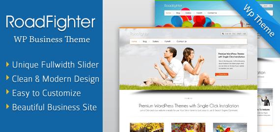 Full Width Slider WordPress Theme