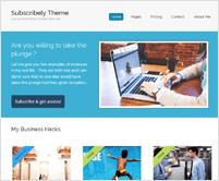 Subscribely v2 - WordPress Responsive Membership Theme