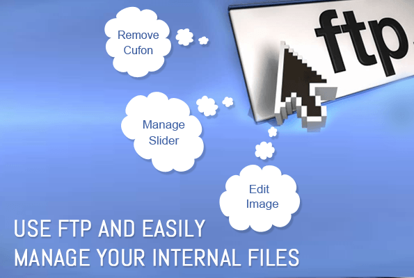 Internal files through FTP