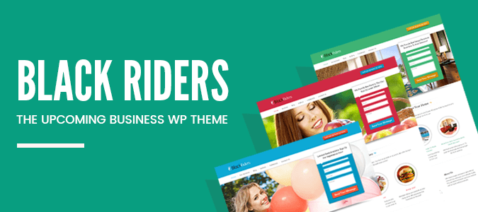 BlackRiders – The Upcoming Business WordPress Theme