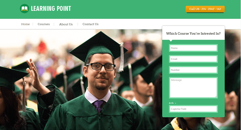 College_Website_With_WordPress