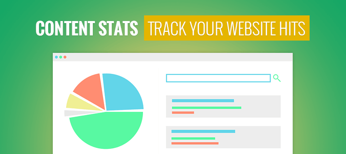 Use Content Stats And Track Your Website Hits