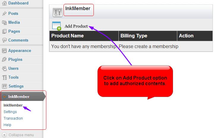 InkMember notify icon