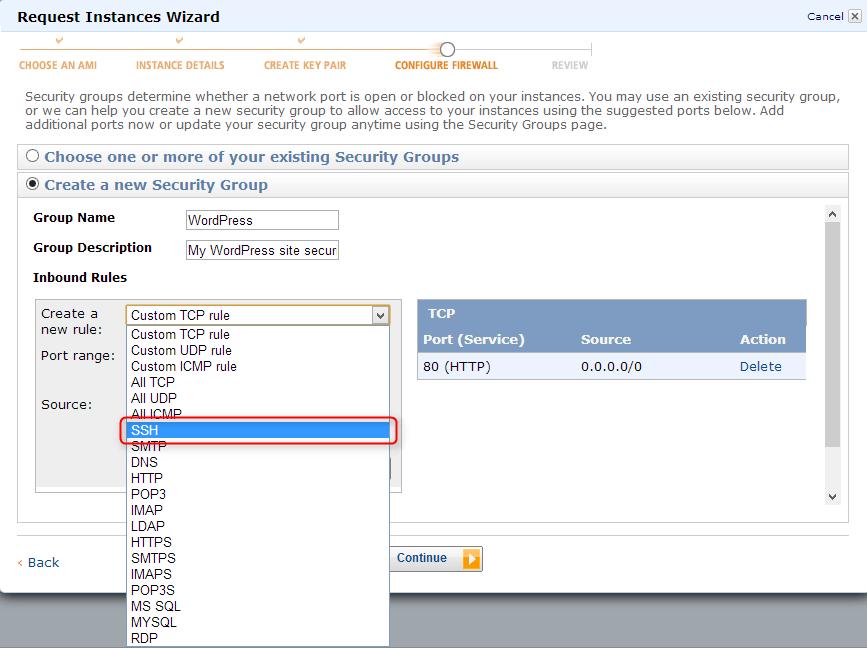 HTTP & SSH added