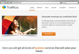 Traffica WordPress Business Theme