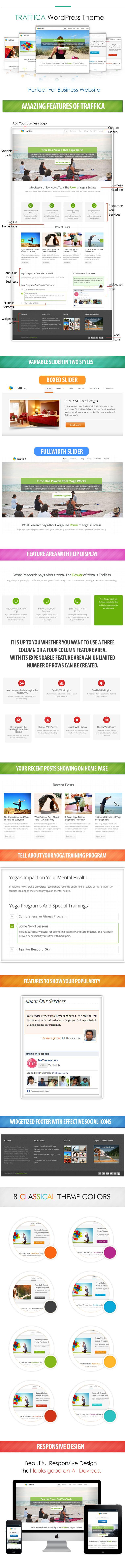 Best Yoga WordPress Theme
