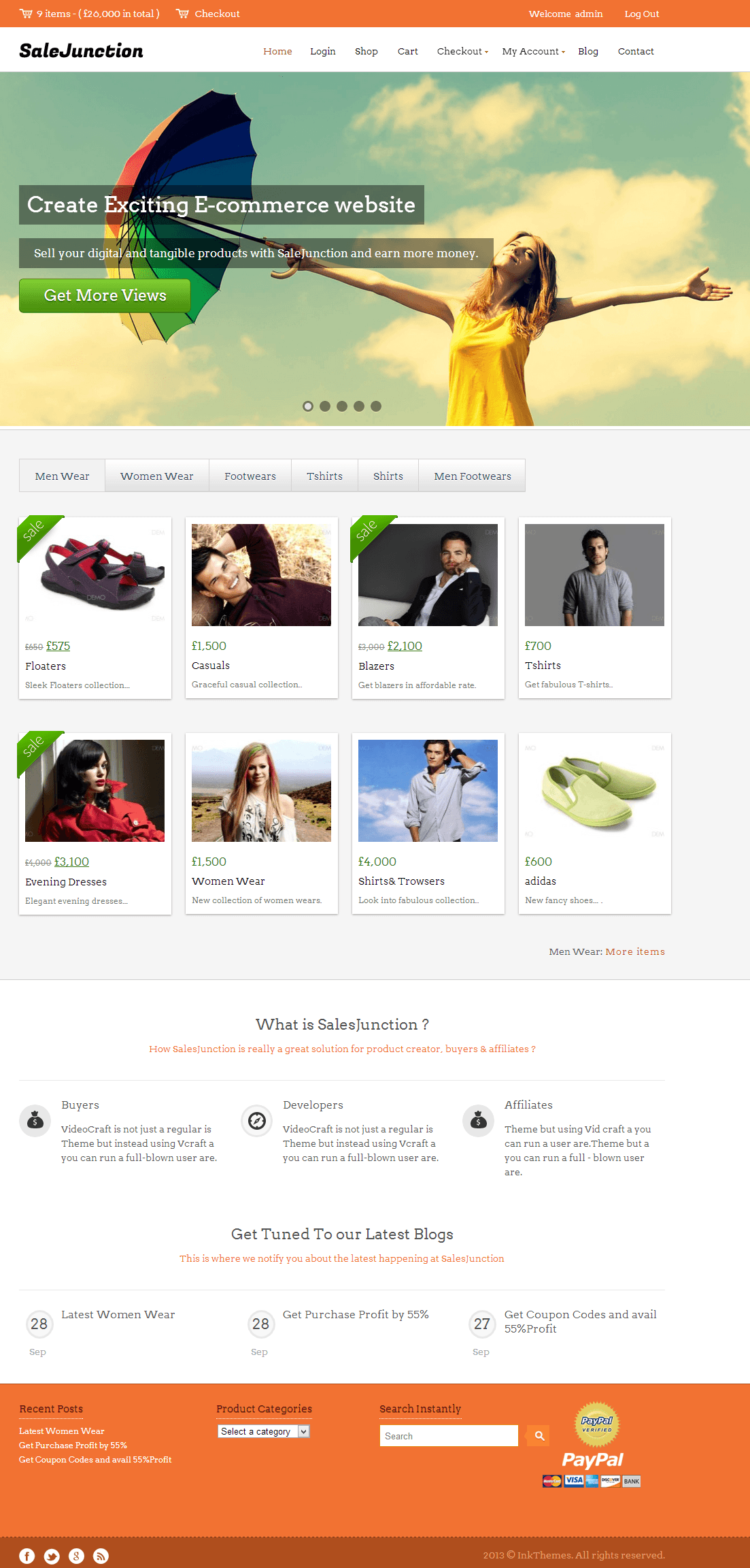 InkThemes SaleJunction
