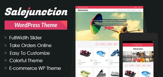 SaleJunction – Marketplace WordPress Theme