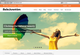 SaleJunction E-Commerce Theme