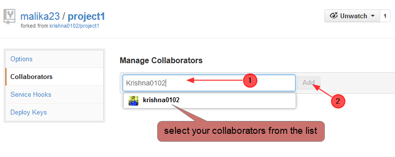 add collaborator