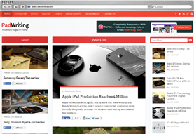 PadWriting WordPress Magazine Theme