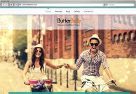 ButterBelly Business WordPress Theme