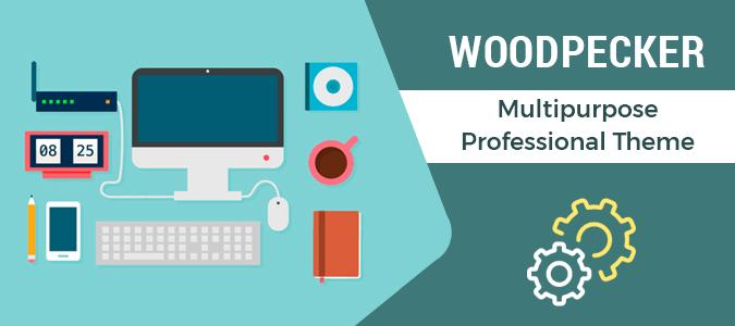 Woodpecker Tutorial – Professional Design WordPress Theme