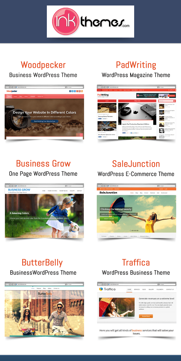Aweseome WordPress Themes