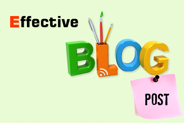 effective blog post