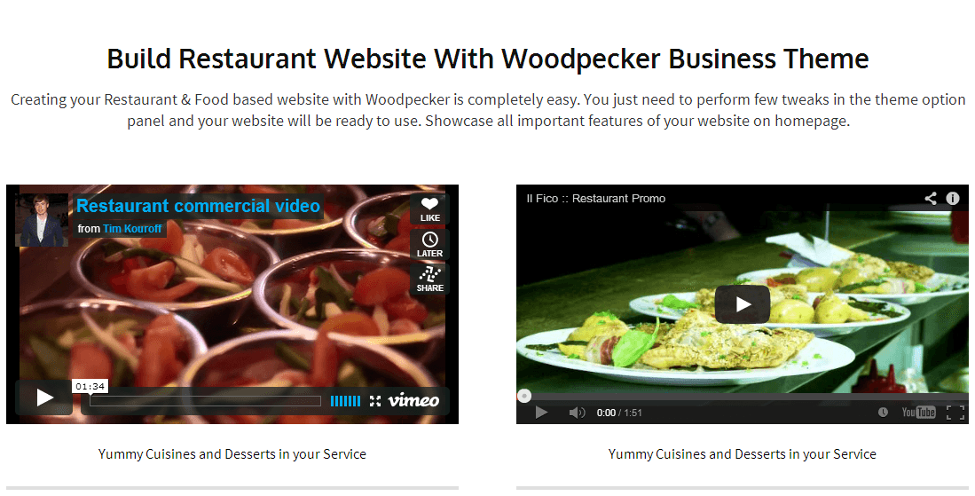 screenview of videos & Featured Punchline